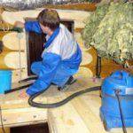 Причины появления загрязнений в банях и саунах, способы и виды уборки